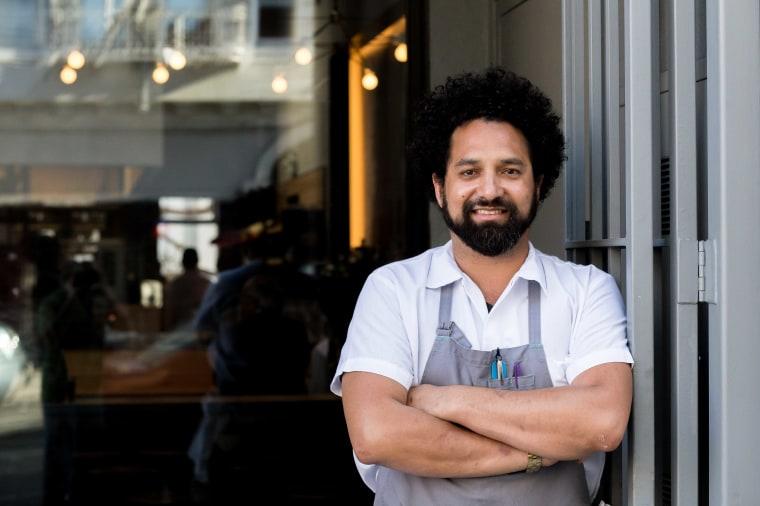 Ravi Kapur, chef at Liholiho Yacht Club in San Francisco.