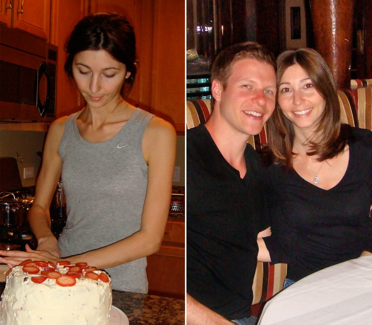 Image: Amber Pontecelli before and after hypnotherapy