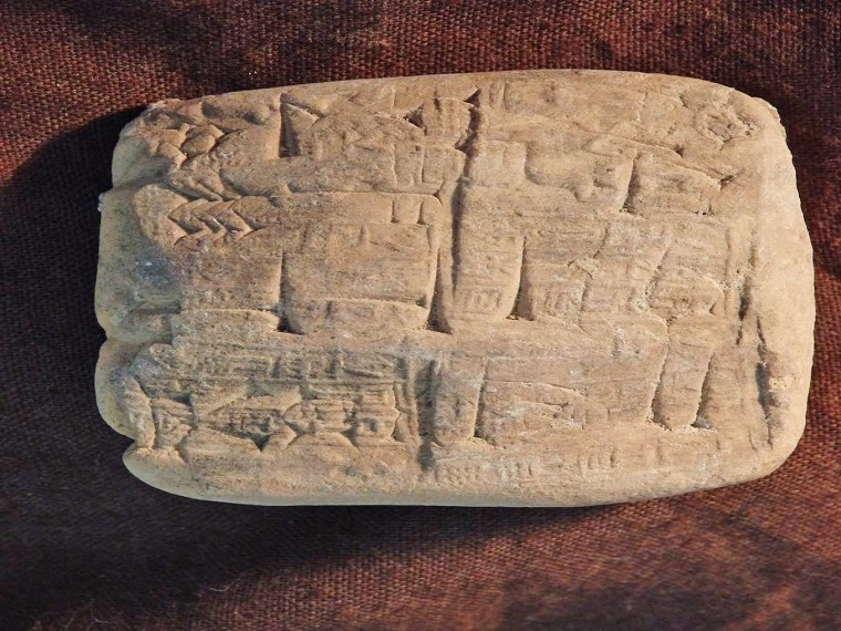 Image: Cuneiform tablets