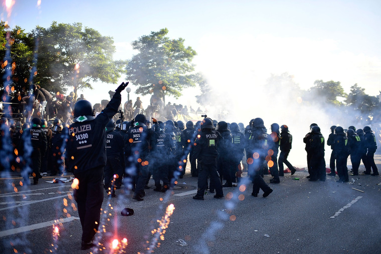 Image: Protesters March During The G20 Summit
