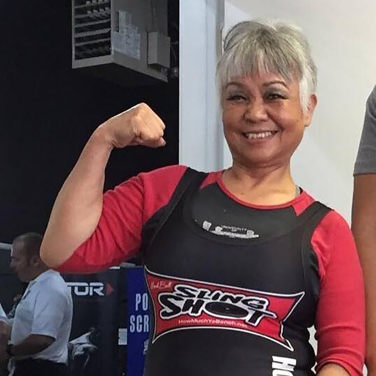 Susie Rose, 75, set a new dead lift record in June 2017 at an American Powerlifting Federation competition in Utah by raising 209.4 pounds in the Women's 65-and-over age group.