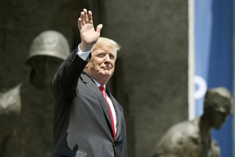 Image: President Donald J. Trump in Poland
