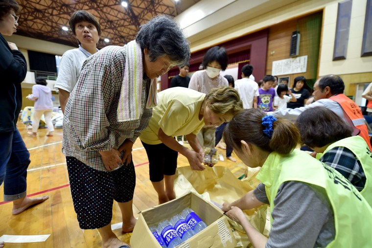 Torrential Rain Forces Thousands to Evacuate in Japan
