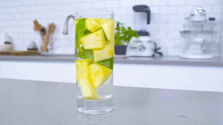 Pineapple Agua Fresca from Pamela Salzman's new cookbook, Kitchen Matters.