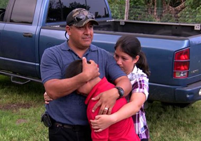 Image: Andres Magana and family
