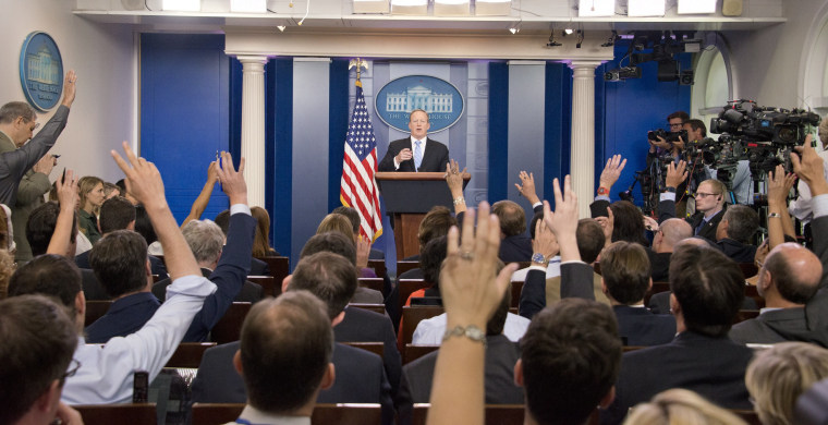 Image: Spicer's Daily Briefing