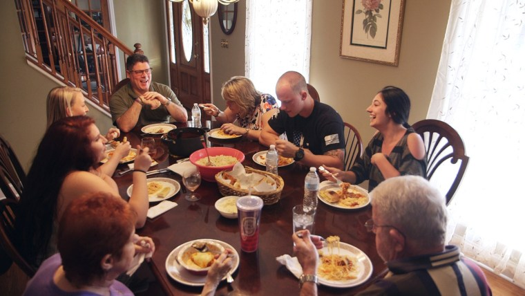 "The Borghoff family does all it can to spend time together. ""Those moments are precious to us,"" said Jeff Borghoff."