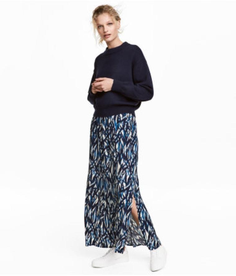 Crinkled Skirt