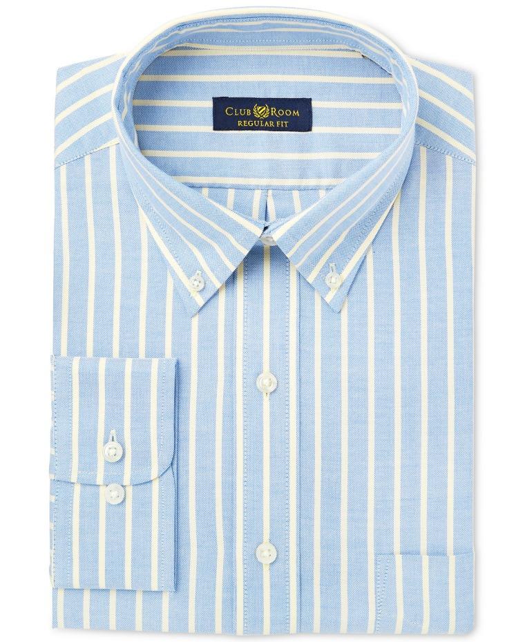 Oxford Stripe Dress Shirt