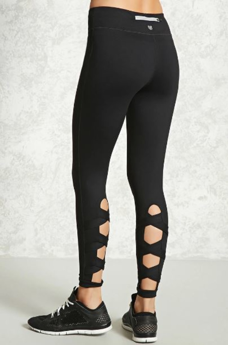 Forever 21 Active Cutout Leggings