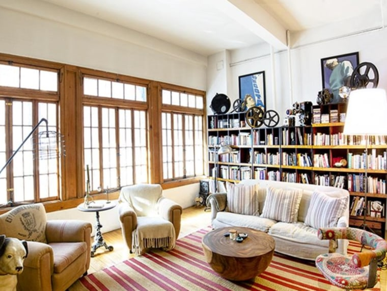 Sheryl Crow NYC loft