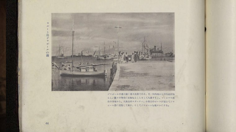 The photo at the center of claims proving that Earhart survived a plane crash was published in this Japanese book two years before the aviator disappeared.