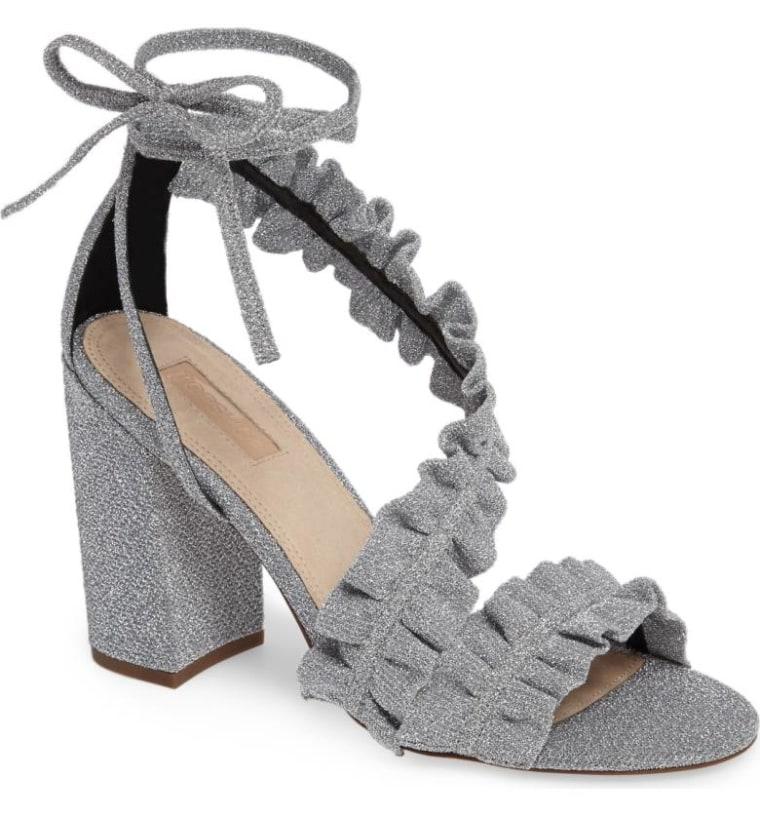 Topshop Ruffled Sandal