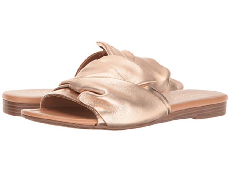 Franco Sarto Gracelynn Metallic Slides