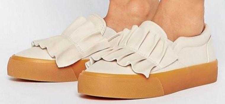 Didsbury Ruffle Sneakers