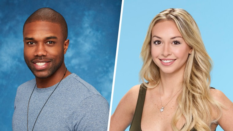 'Bachelor in Paradise's' DeMario Jackson and Corinne Olympios.