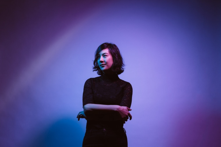 "Image: A portrait of Michelle Zauner of \""Japanese Breakfast\"""