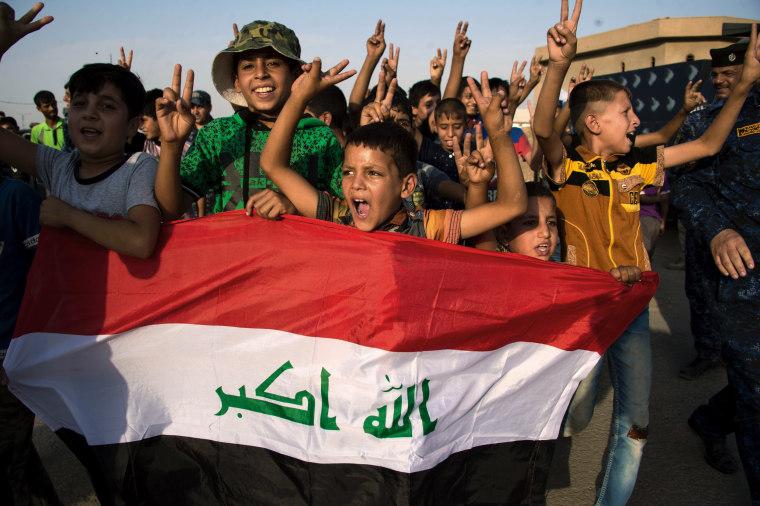 Image: IRAQ-CONFLICT-MOSUL