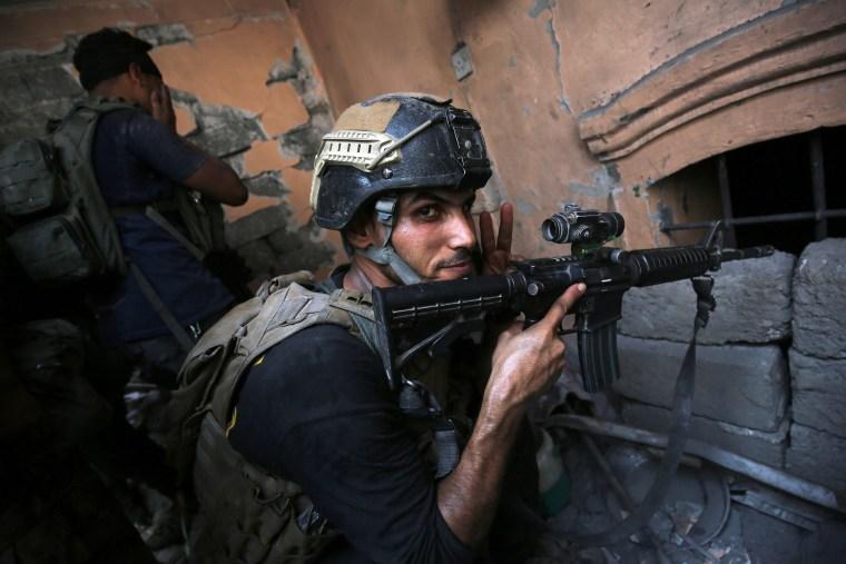 Image: IRAQ-CONFLICT-MOSUL-JIHADISTS