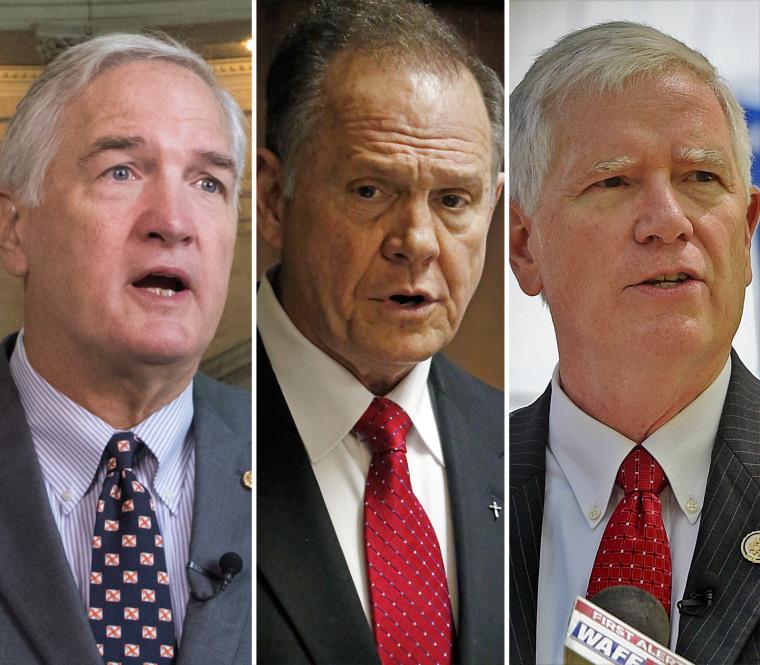 Image: Strange, Moore, Brooks