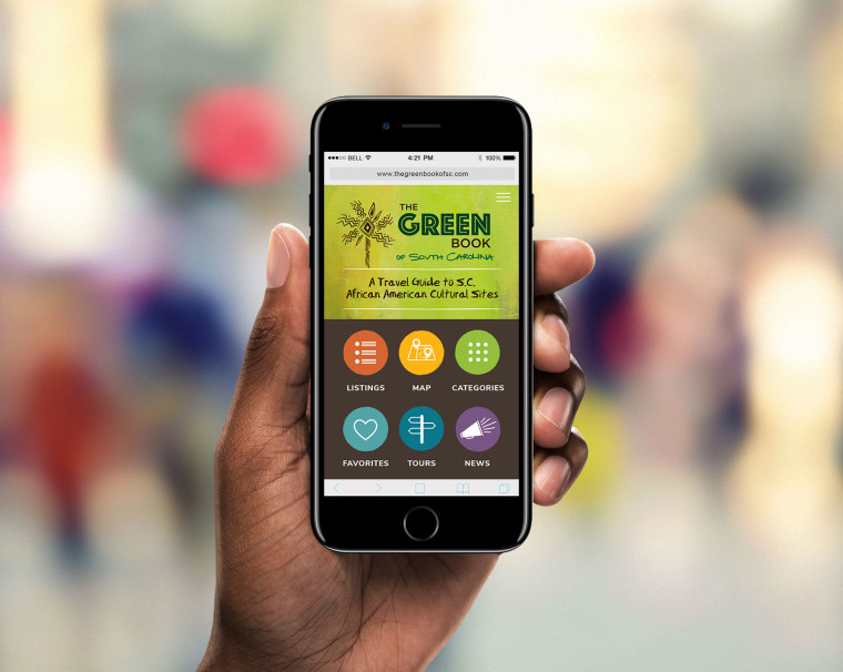 Image: Handheld Green Book App