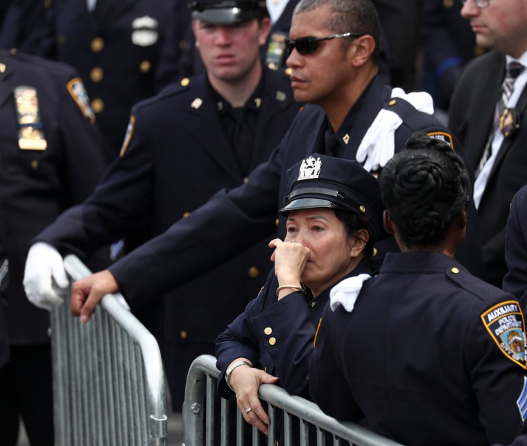 Image: New York City Police Officer Miosotis Familia Funeral