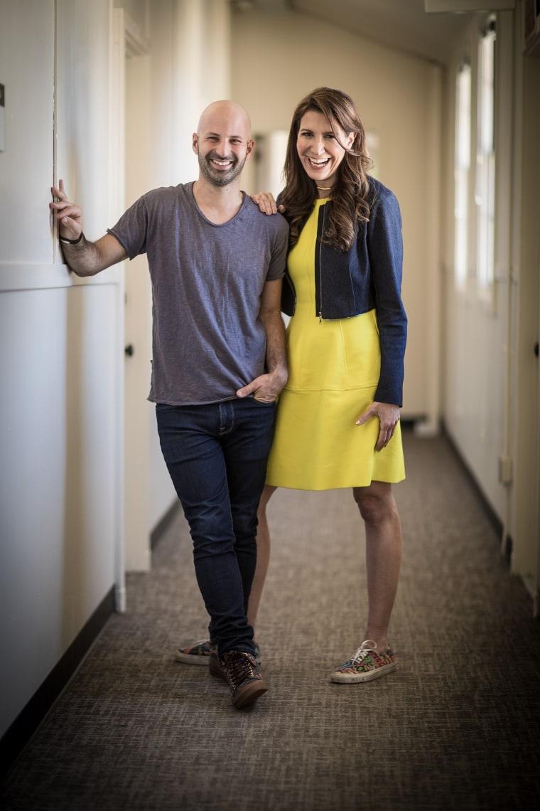 Image: Tina Sharkey and Ido Leffler, co-founders of Brandless.