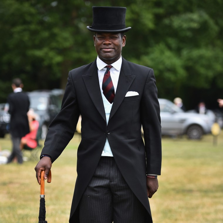 Image:  Major Nana Twumasi Ankrah at the Royal Ascot Racecourse in London