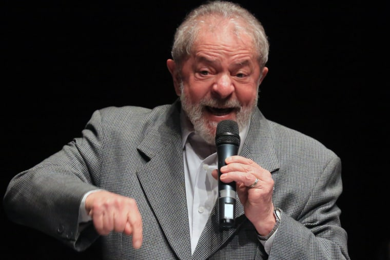 Image: Brazilian former President Lula da Silva is condemned to nine years in jail for corruption