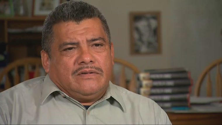 Raleigh, N.C. pastor Jose Chicas, who is seeking sanctuary in a religious institution in nearby Durham after receiving deportation orders.