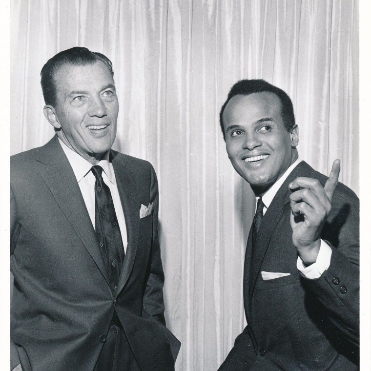 Image: Ed Sullivan and Harry Belafonte
