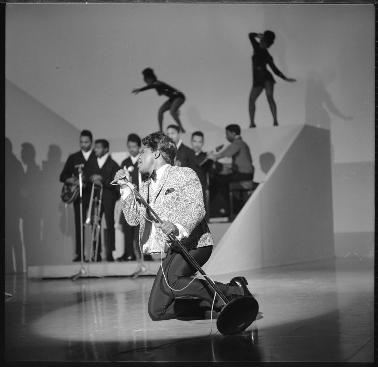 THE ED SULLIVAN SHOW featuring musical guest James Brown, October 30, 1966.