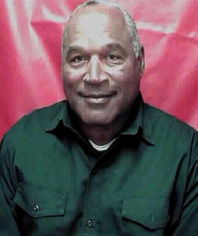 Image: Inmate photo of OJ Simpson