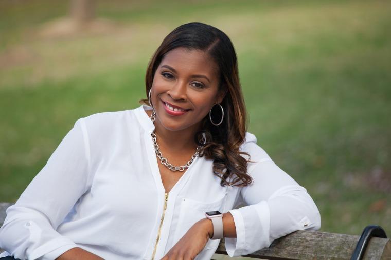 Image: Sadeqa Johnson is an award-winning author, motivational speaker, and meditation instructor.