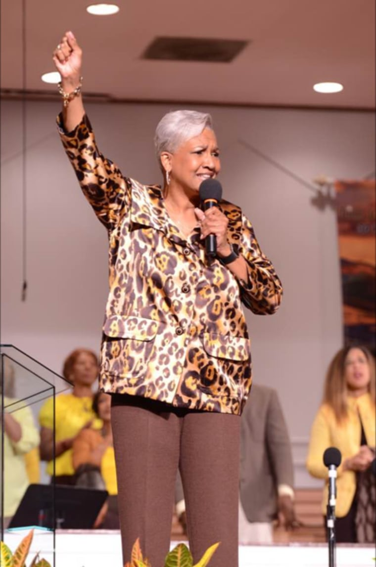 Image: Rev. Dr. Cynthia Hale, Pastor of Ray of Hope Christian Church in DeKalb County, Georgia.