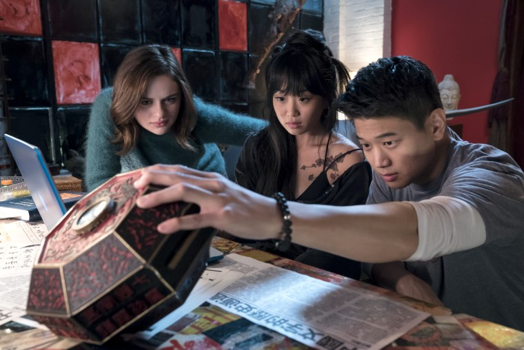 """Ki Hong Lee stars as Ryan in """"Wish Upon,"""" a Broad Green Pictures release."""