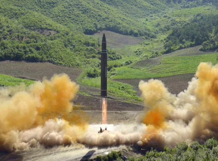 Imkage; North Korea Missle