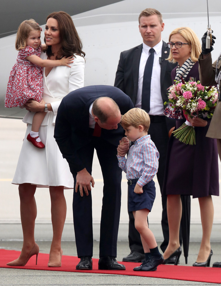 The Duke And Duchess Of Cambridge Visit Poland - Day 1