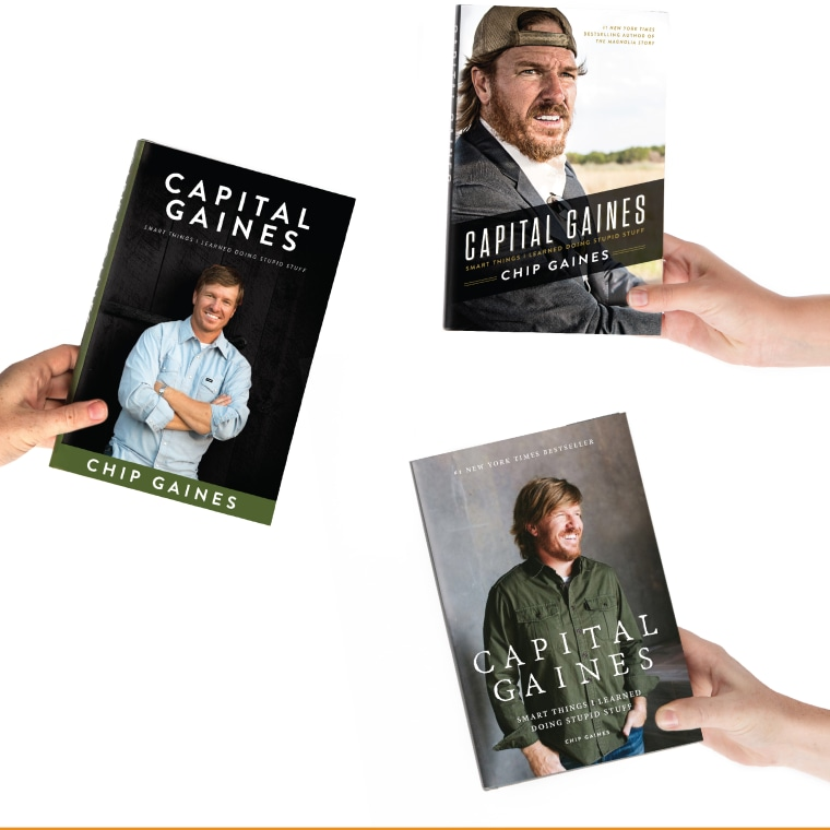 Chip Gaines' new book cover