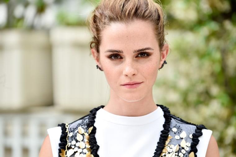 Emma Watson in Paris in June.
