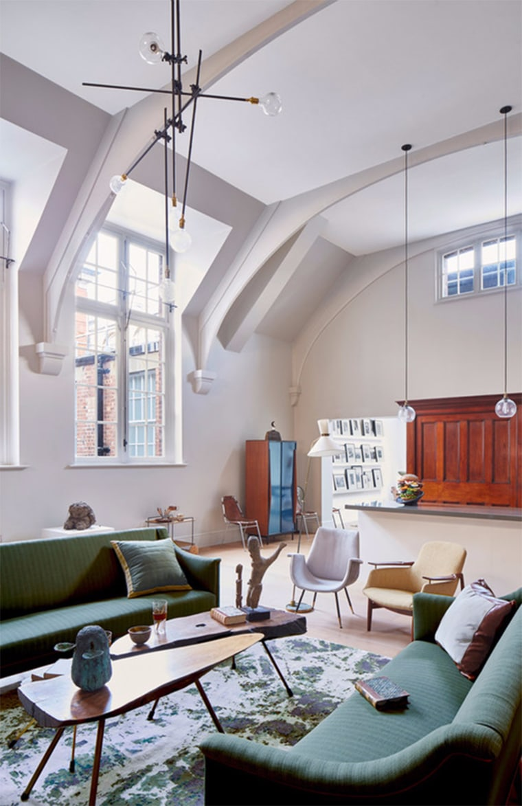 The courthouse's high ceilings now provide enviable space for tenants.