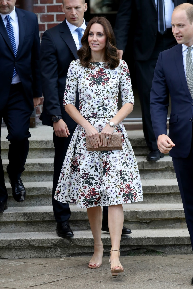 The Duke And Duchess Of Cambridge Visit Poland - Day 2