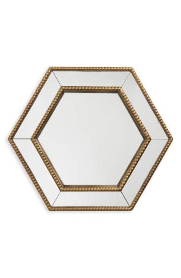 'Gold Hexagon' Mirror