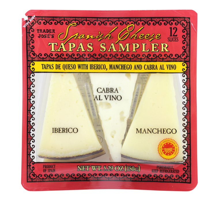 Trader Joe's Spanish Cheese Sampler