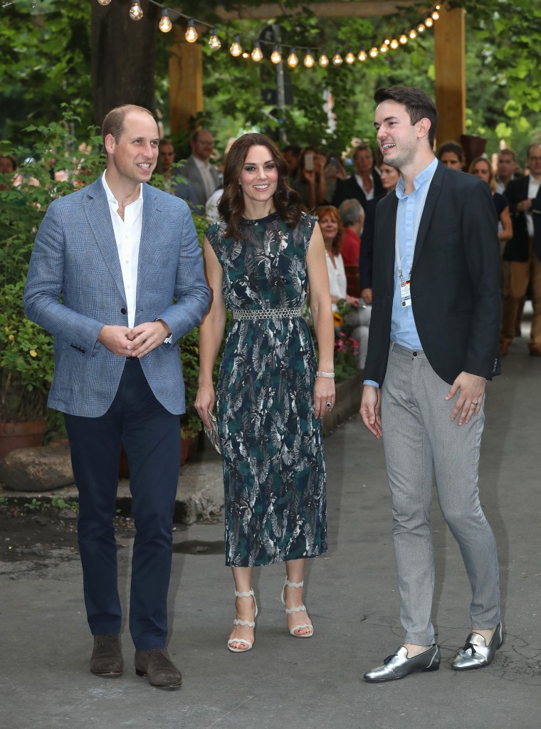 The Duke And Duchess Of Cambridge Visit Germany - Day 2