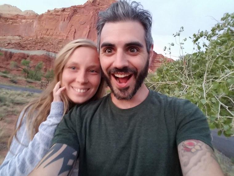 Heather Thompson and Greg Cayea