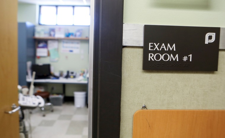 Image: An exam room at the Planned Parenthood South Austin Health Center in Austin