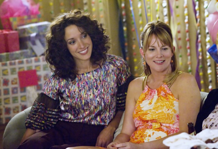 Image: Laurel Holloman as Tina and Jennifer Beals as Bette in The L Word
