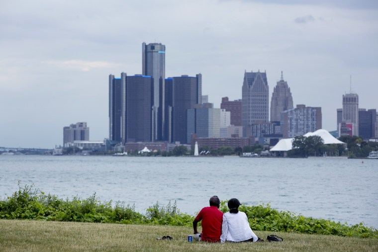 Views Of Detroit As The City Tries Makeover