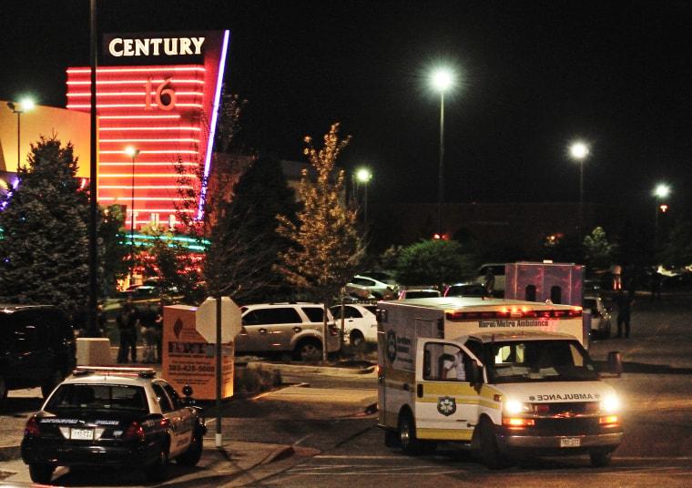 Image: Century 16 Theater Shooting Denver